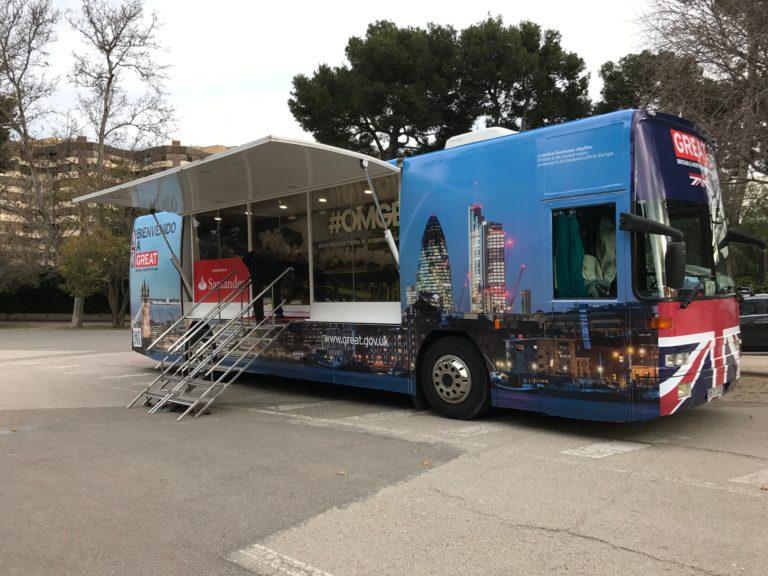 Autobuses Escenarios Vodafone