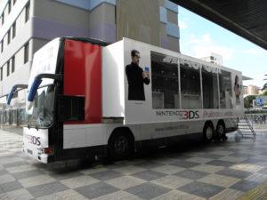 Autobus de Petacas Nintendo 3dS