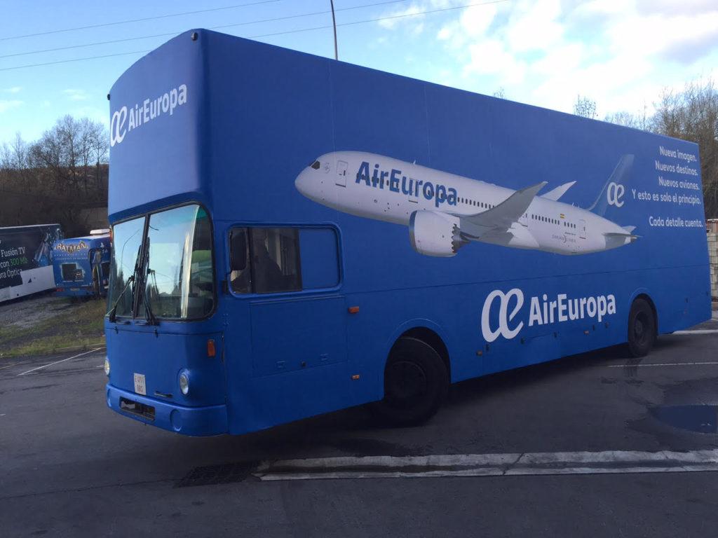 Vehiculos Valla Air Europa