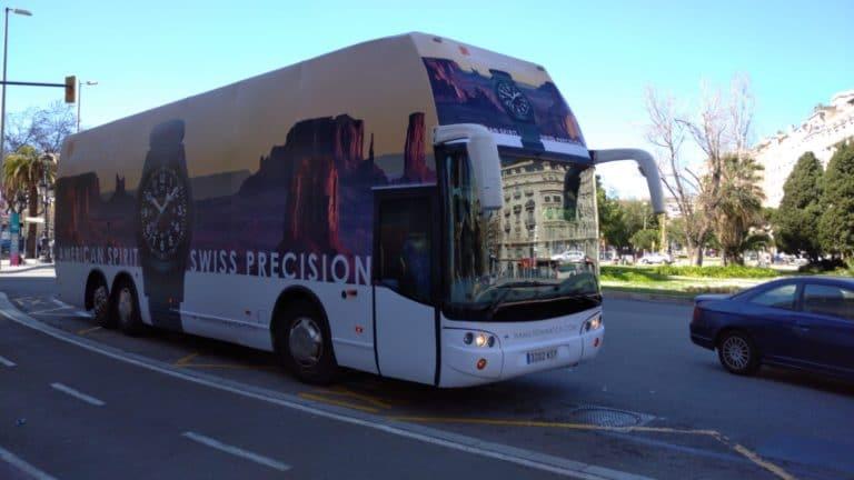Autobus Valla - Relojes Hamilton Barcelona