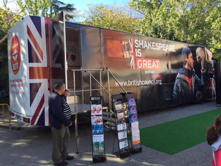 Vehiculos Exposición British Council