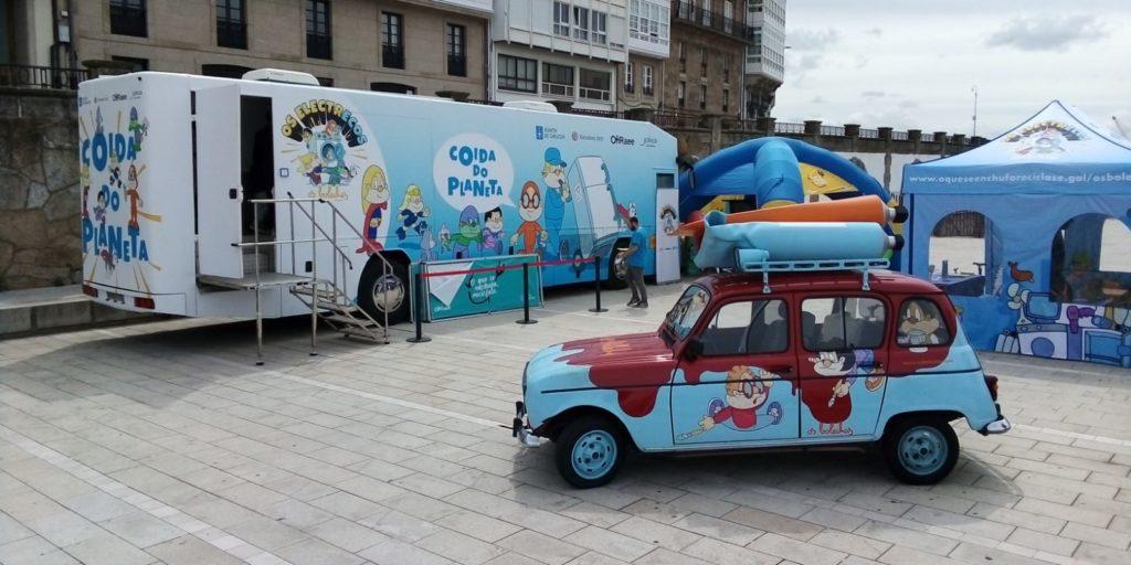 Autobuses Exposición Xunta Galicia