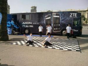 ZTE Axon Europa Road Show
