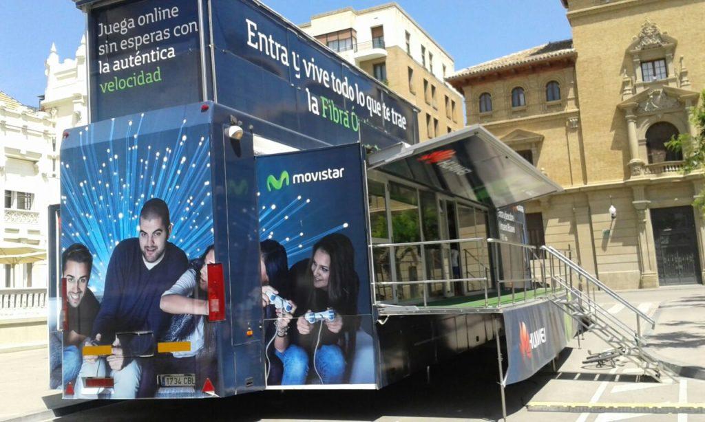 Camiones Publicitarios Movistar